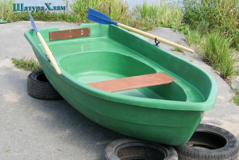 одна из самых маленьких пластиковых лодок