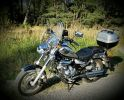 Мотоцикл 2013 года  тип - чоппер