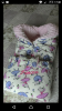 Верхняя одежда на девочку 50-56 cм (0-2 мес)