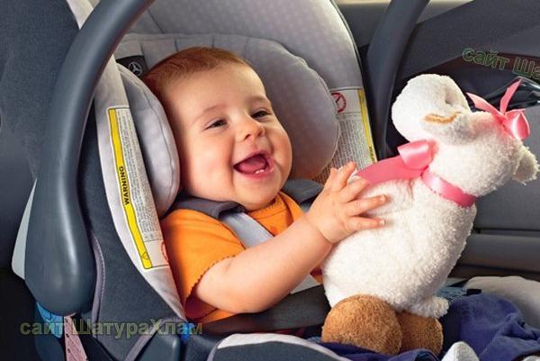 Какие детские кресла разрешается на автомобиль чтоб